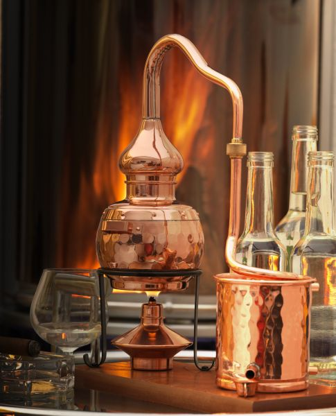 legal still for distilling schnapps