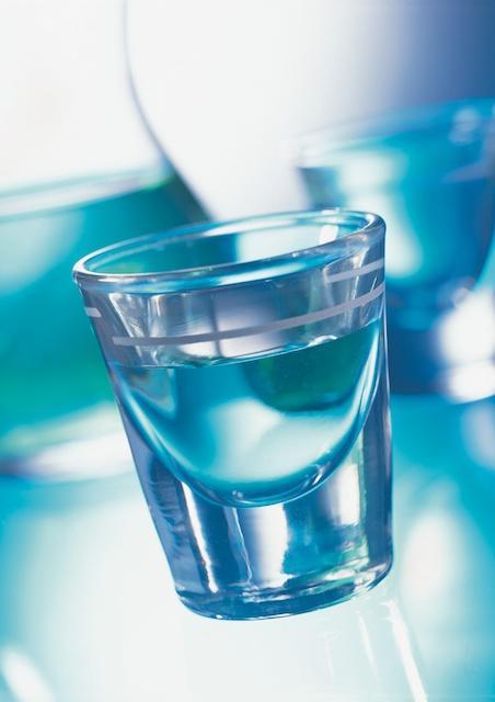Wodka wird sehr klar und hochprozentig abdestilliert