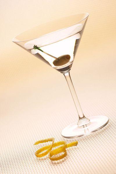 Martiny dry - der Cocktail geht auch sehr gut mit selbstgemachtem Gin