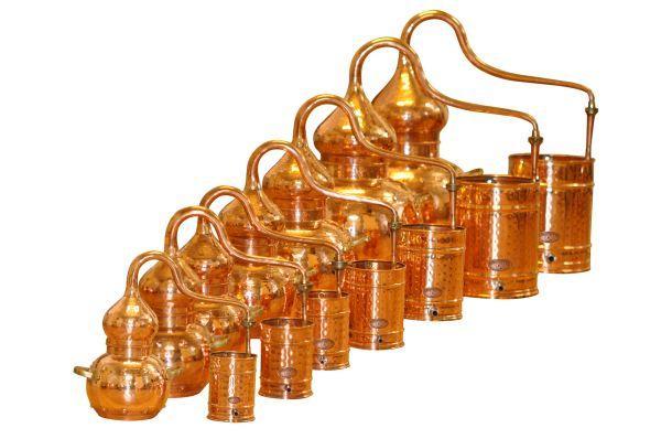 Alembik Destillen bei Destillatio in 8 Varianten und über 10 Größen sofort lieferbar
