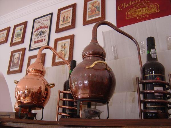 Stills for decoration and still bottle holders