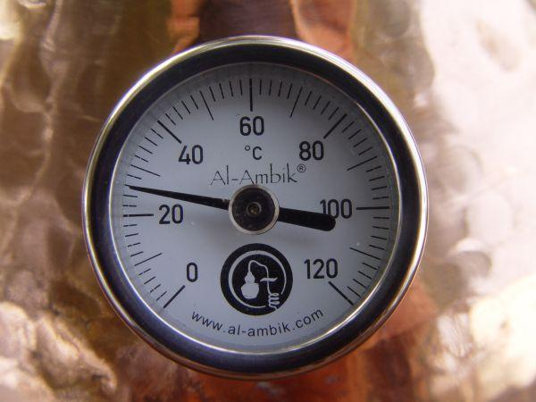 the original Al-Ambik distilling thermometer