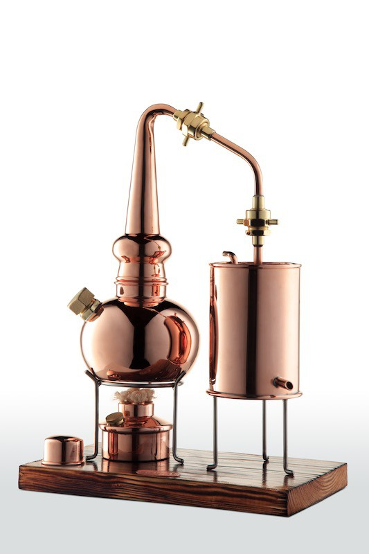 "Dispositif de distillation pour whisky 2 L - ""CopperGarden®"""