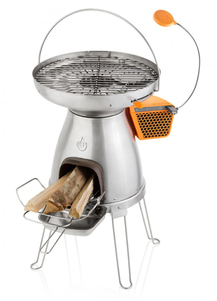 """BioLight"" BaseCamp USB cooker with FlexLight"