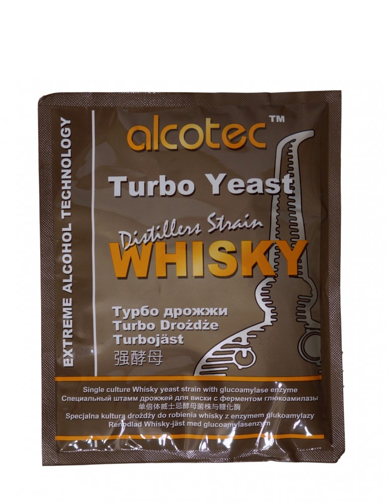 Alcotec Turbo Yeast  Whisky  - 14,5 % within seven days!