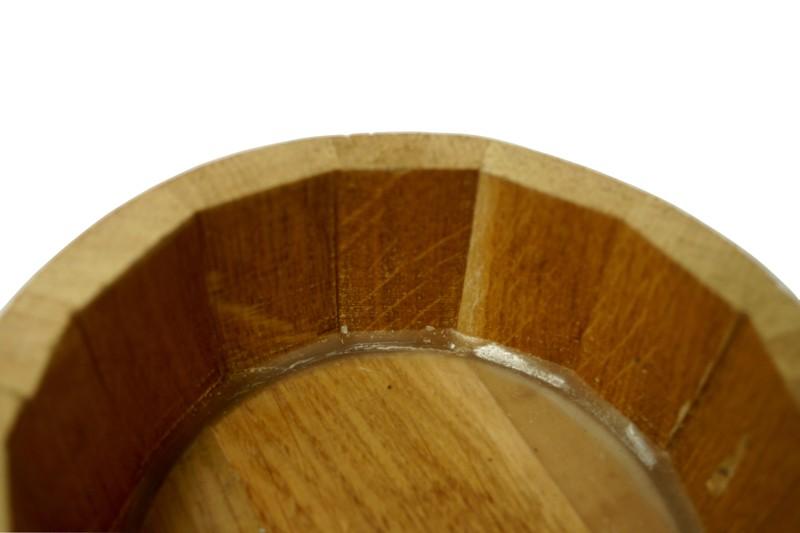 en bois de chêne 2 l avec support en chêne naturel barrique en bois  ~ Barrique En Bois