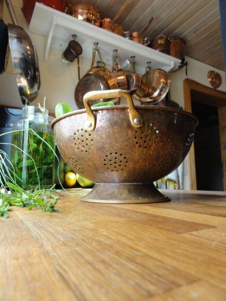 Cuisiner dans du cuivre - Nettoyer du cuivre tres oxyde ...