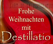 Frohe Weihnachten mit Destillatio