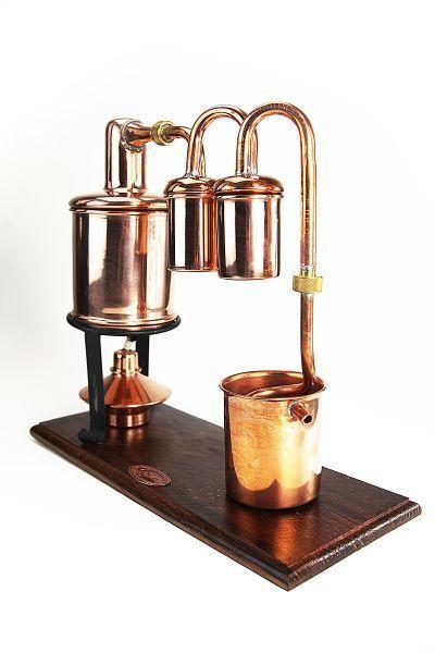 Die CopperGarden® Rum Destille zum fraktionierten Destillieren