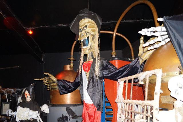 Halloween mit Destillen