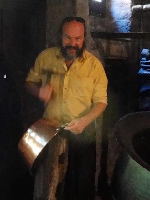 Kai Möller - der Chef von Destillatio beim Kupferschmieden