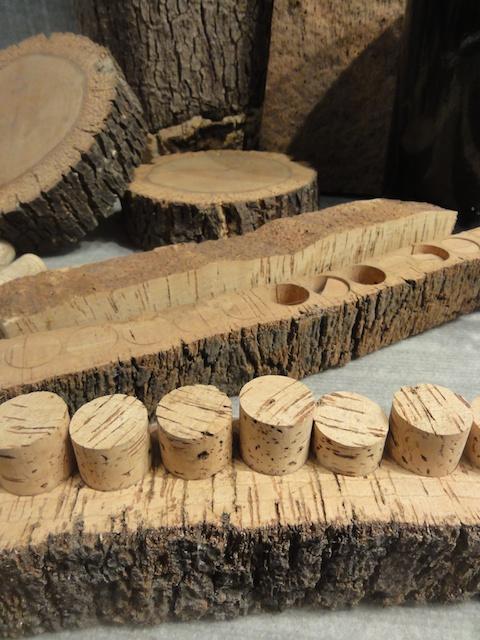 Naturkorken von der Korkeiche zum Korken