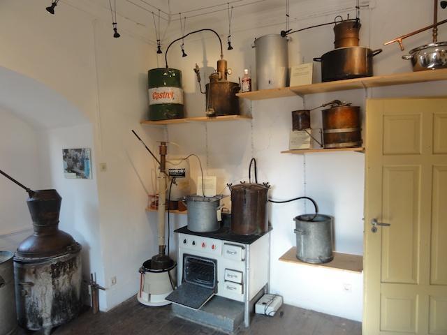 Schwarzbrenner Destillen im Schnapsmuseum Bönnigheim