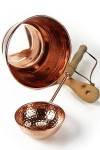 """CopperGarden®"" Copper bucket and ladle for sauna"