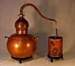 """CopperGarden®"" decor still Alembic 25 liters"