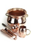 """CopperGarden®"" SET: Feuerzangenbowle/Brandy punch, copper"