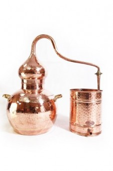 """CopperGarden®"" still Alembic 30L, welded & thermometer"