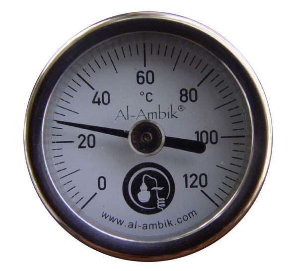 Thermometer destille