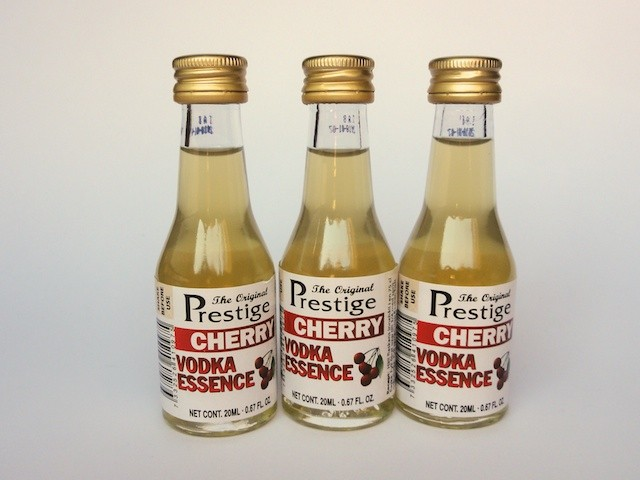 "3 x ""Prestige""  essenza vodka Aroma alla ciliegia 20ml"