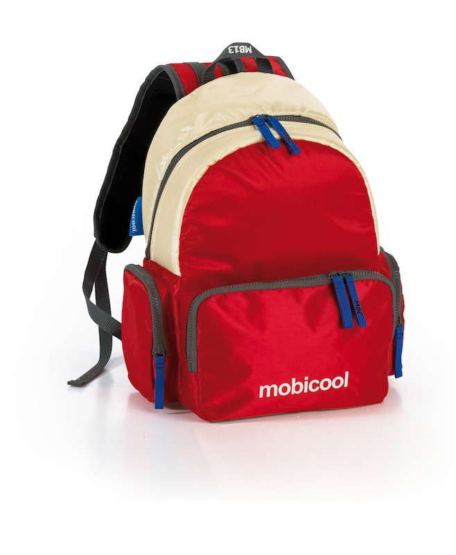"""Mobicool""  sac à dos isotherme  SAIL 13L, rouge-champagne"