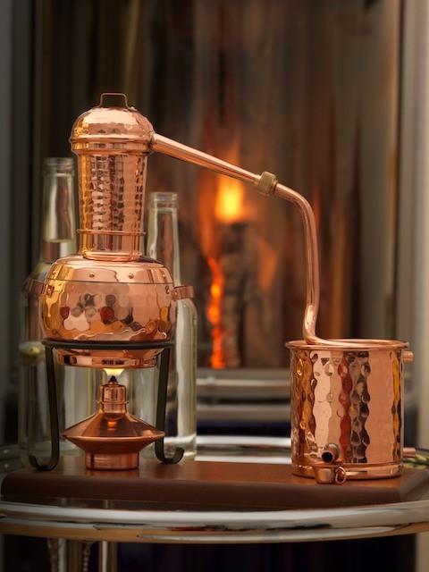 coppergarden destille arabia 0 5 liter mit zubeh r. Black Bedroom Furniture Sets. Home Design Ideas