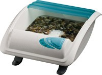 Medicura®  Hot Stone Fußmassage & Sprudel
