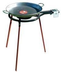 Vaello  Set: gas burner 30 cm, stand and paella pan