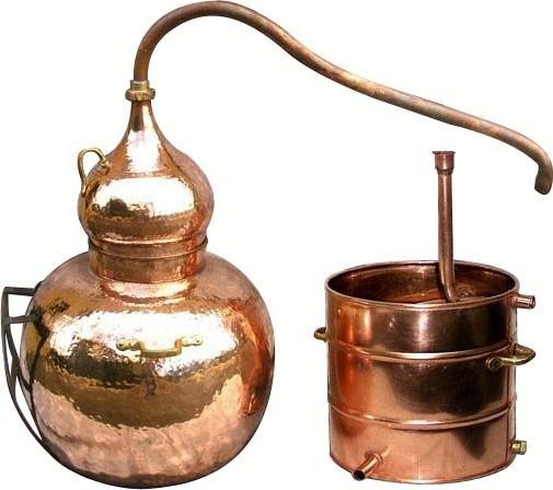 CopperGarden®  still alembic 100 liters welded