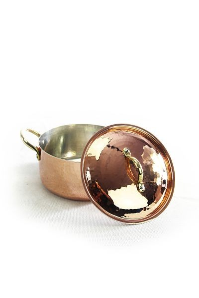 CopperGarden®  copper pot / saucepan 16 cm