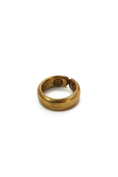 Magnetic Copper Ring, gold-plated