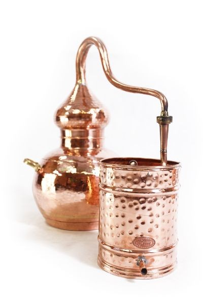 CopperGarden  alembic still 10L, welded