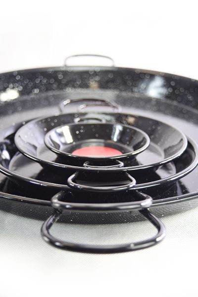 Vaello  paella pan (80 cm) - black enamelled