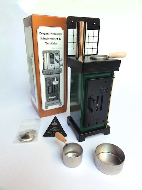 Quot Huss Quot Mini Stove Oven Incense Smoker Green Black