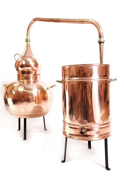 CopperGarden  still Alembic 50L, welded