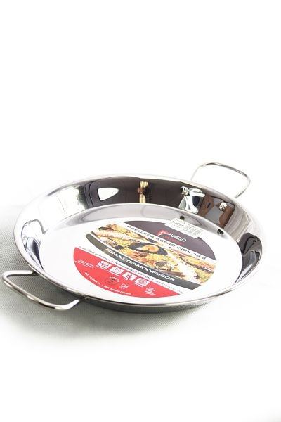 Vaello  paella pan (36 cm) made of stainless steel