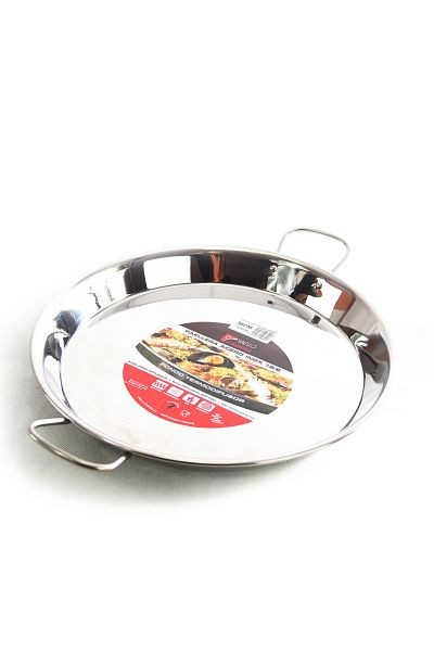 Vaello  paella pan 30 cm, stainless steel