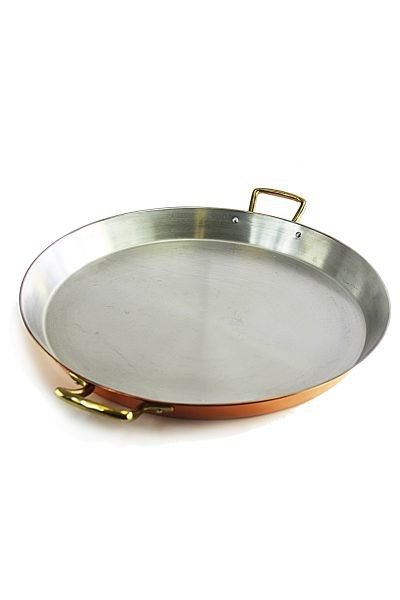 CopperGarden®  paella pan (35 cm) copper / stainless steel