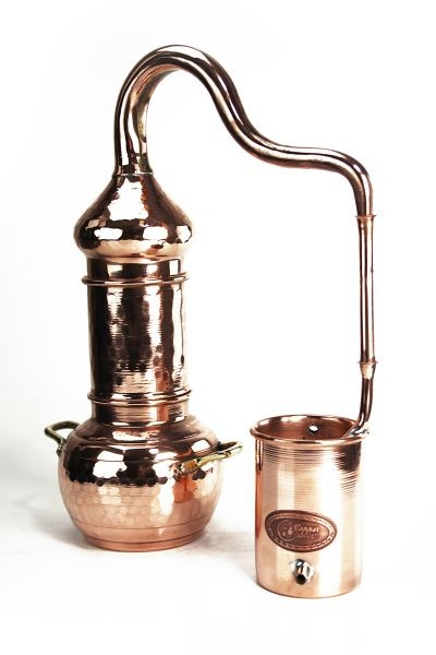 Alambic à colonne 0,5L -  CopperGarden®