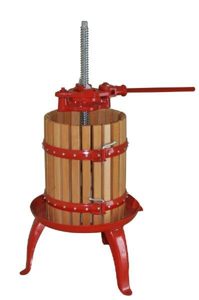 Wine press / fruit press 6L