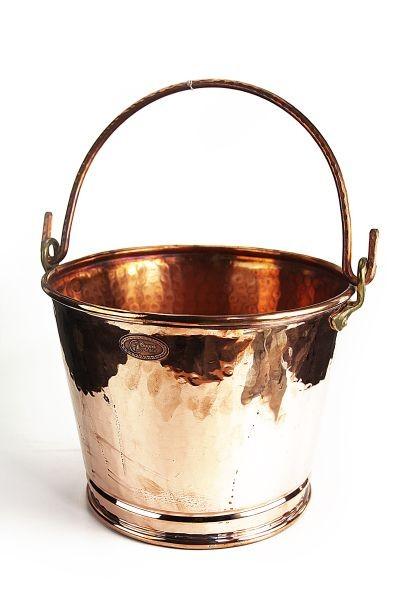 seau en cuivre 8 litres coppergarden. Black Bedroom Furniture Sets. Home Design Ideas