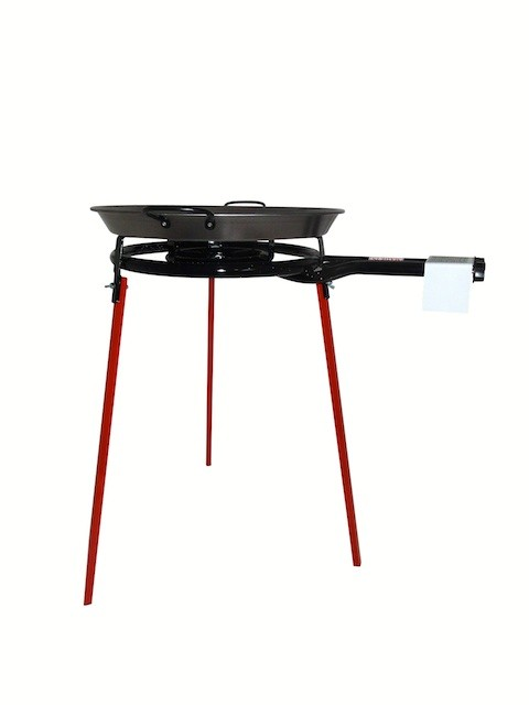 Vaello  Set: gas burner (40 cm), stand and paella pan