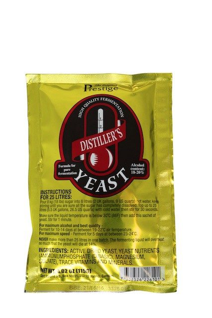 Prestige  Distillers Yeast - Turbo Yeast