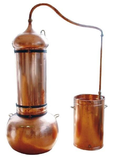 CopperGarden®  still - column still 300 liters