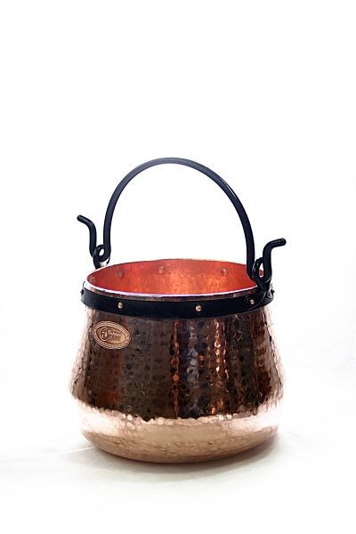 CopperGarden®   copper cauldron/witches' cauldron, 10 L