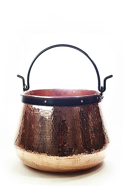 CopperGarden®  Copper cauldron/witches' cauldron, 100 L