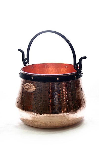 CopperGarden®  Copper cauldron/witches' cauldron, 30 L