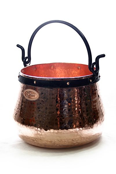 CopperGarden®   copper cauldron/witches' cauldron, 60 L