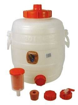 Set:  Speidel  must container 30 liters complete with all fittings