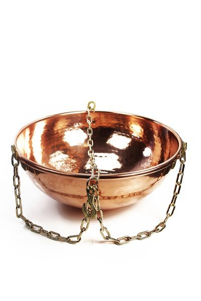 CopperGarden®  copper hanging bowl, 10 liters