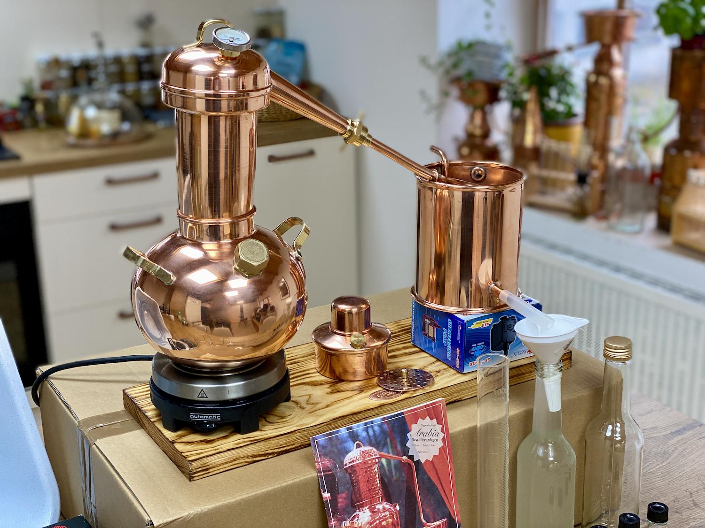 Die perfekte Destille für Ihr neues Hobby.